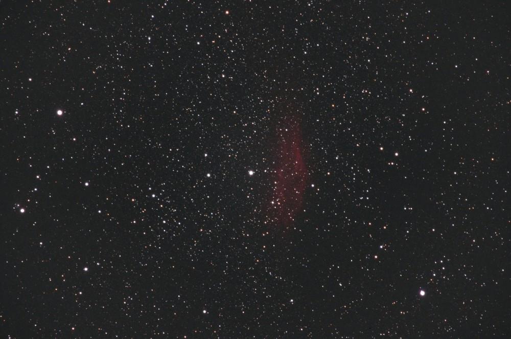 NGC 1499 après traitement Siril