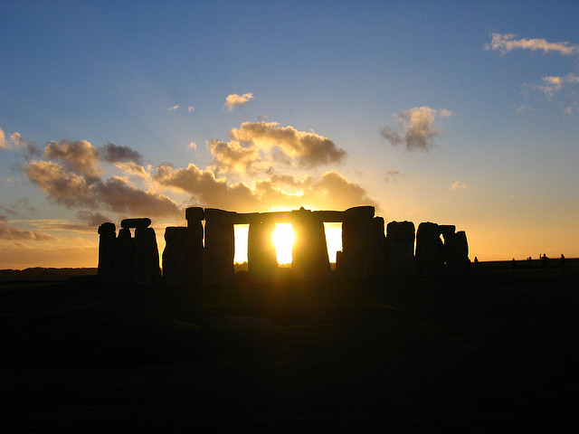 Stonehenge. Image : Justin Barton, CC-By-NC-SA