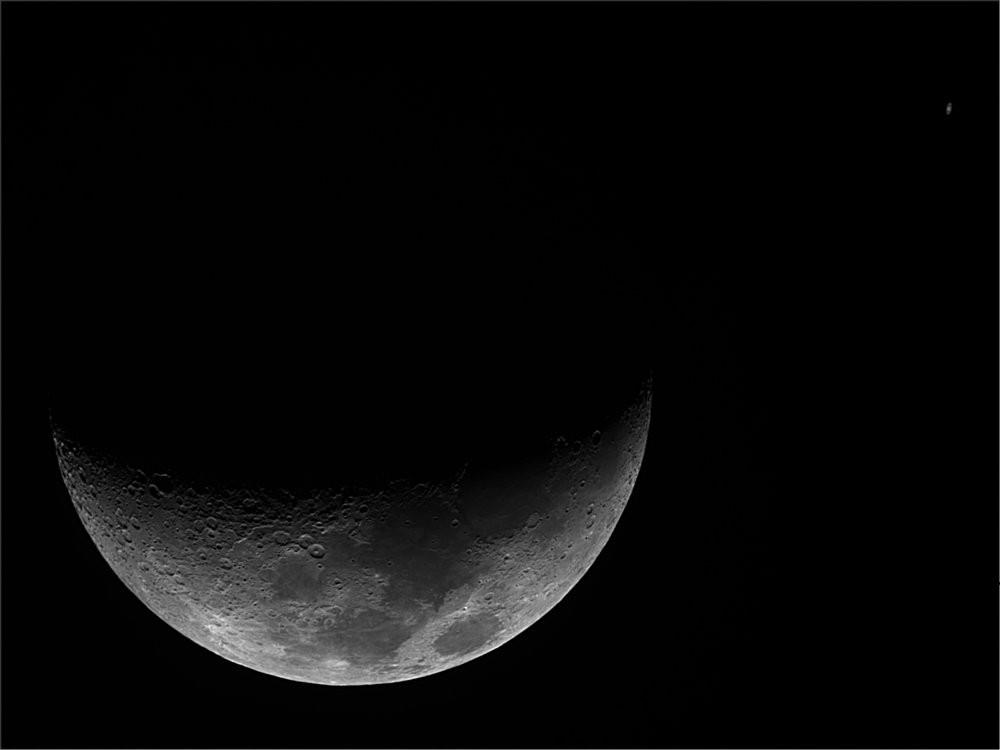 Conjonction Lune Saturne 31-08-2014
