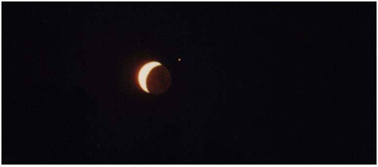 Conjonction Saturne Lune
