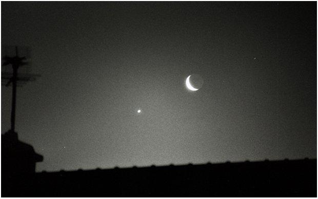Conjonction Lune Vénus
