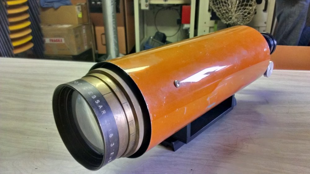 Chambre Aero Tessar 500mm de focale