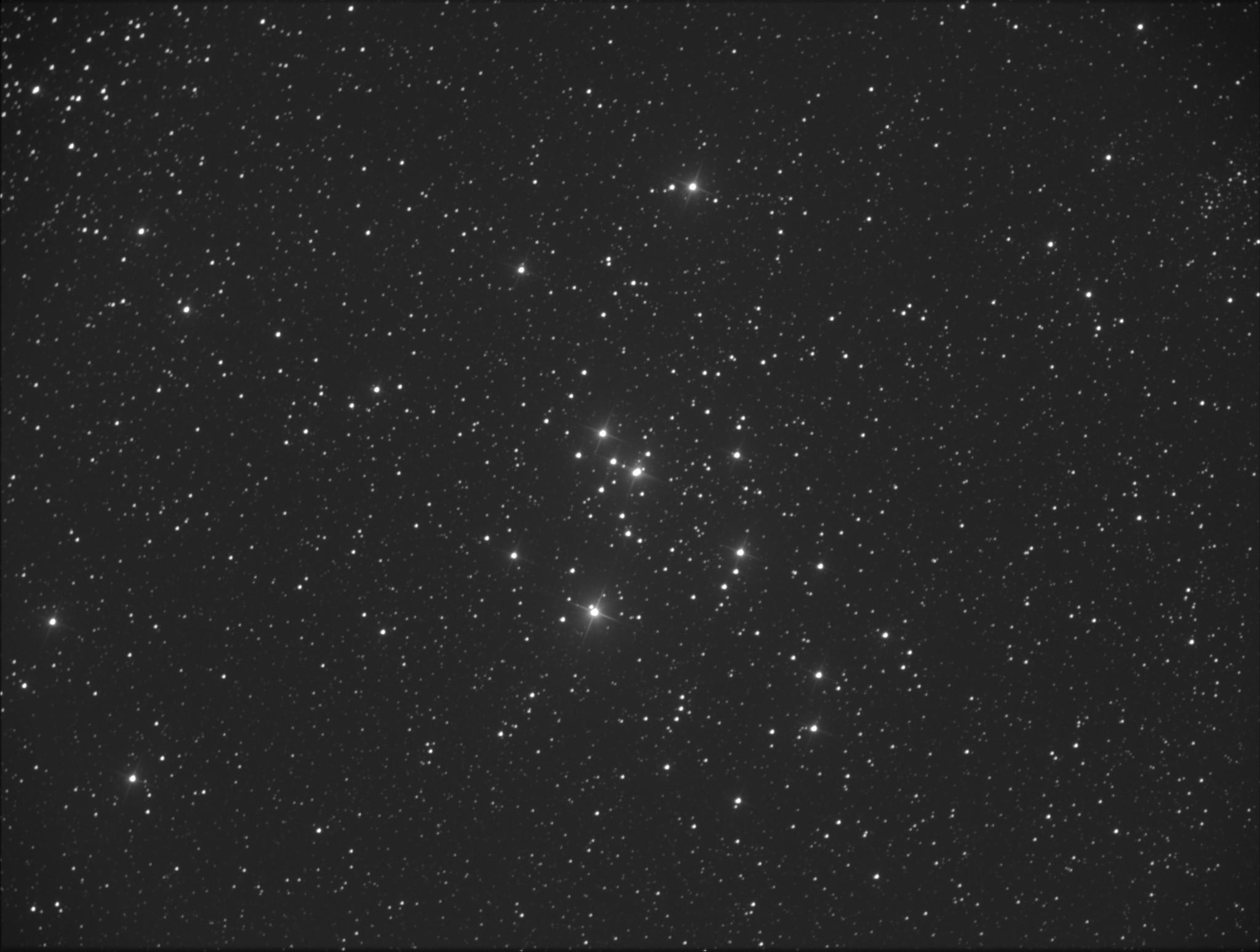 M 47 dans la Poupe, non loin de M46
