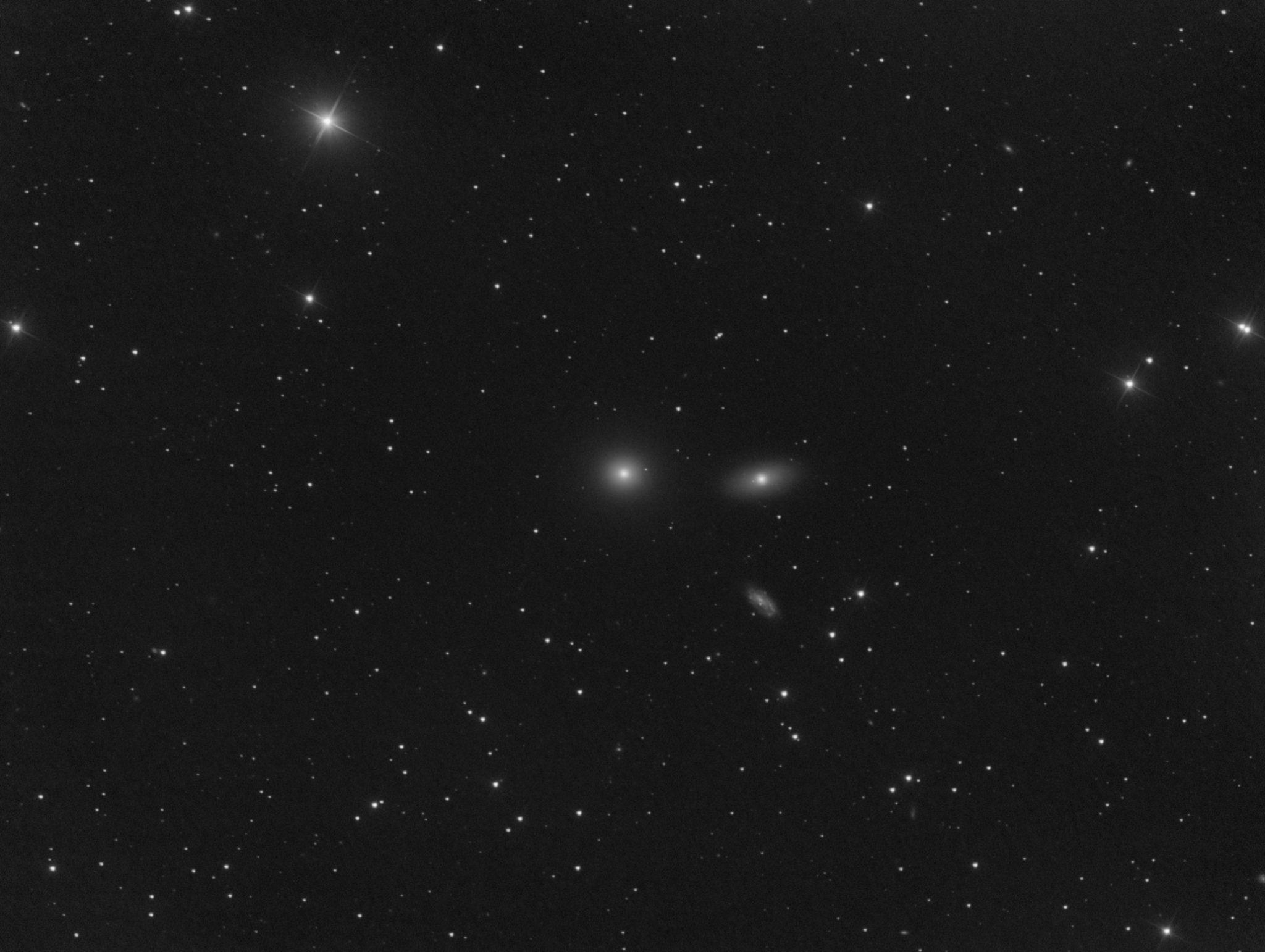 Messier 105 dans le Lion