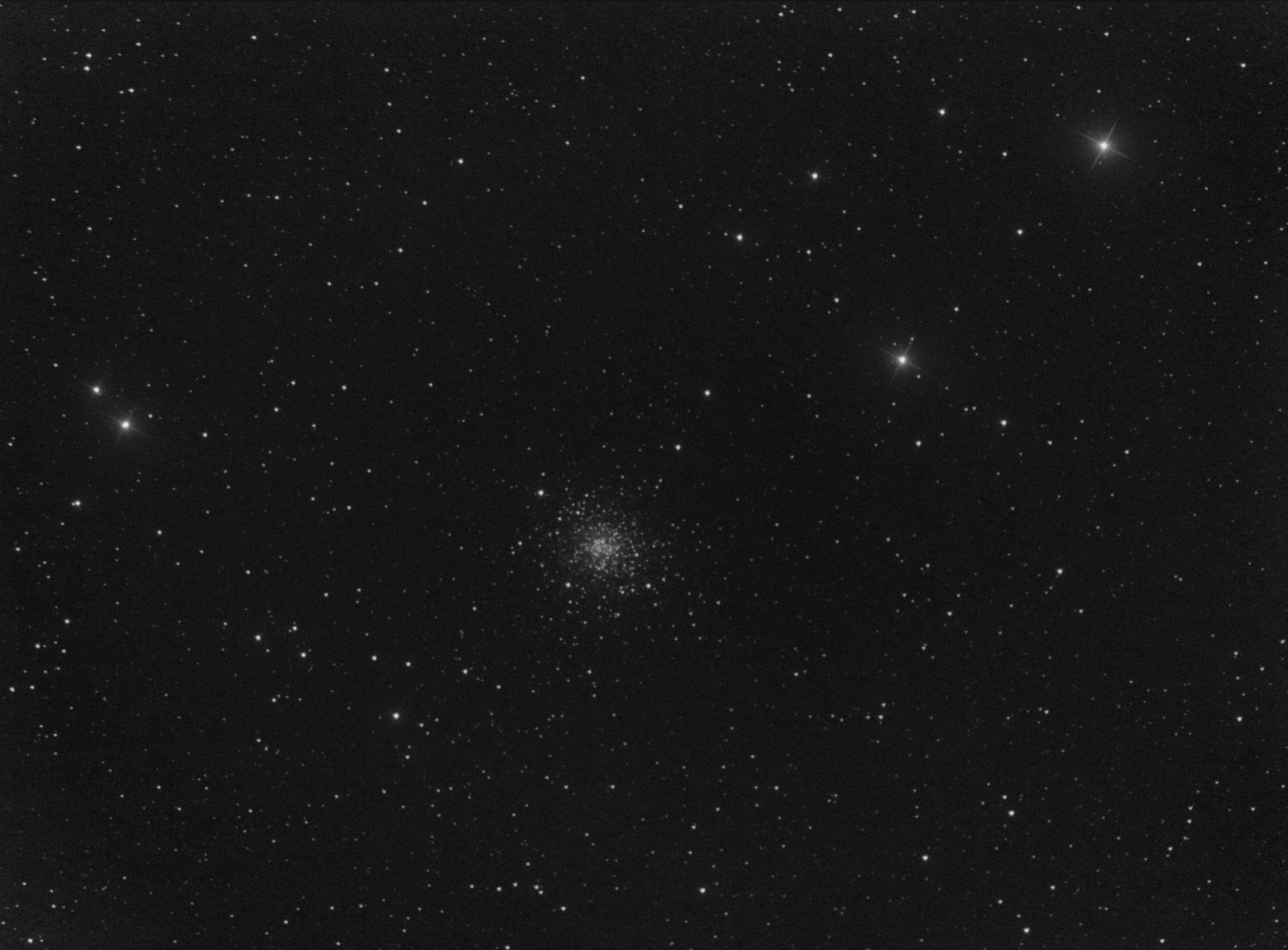 Messier 107 dans Ophiuchus