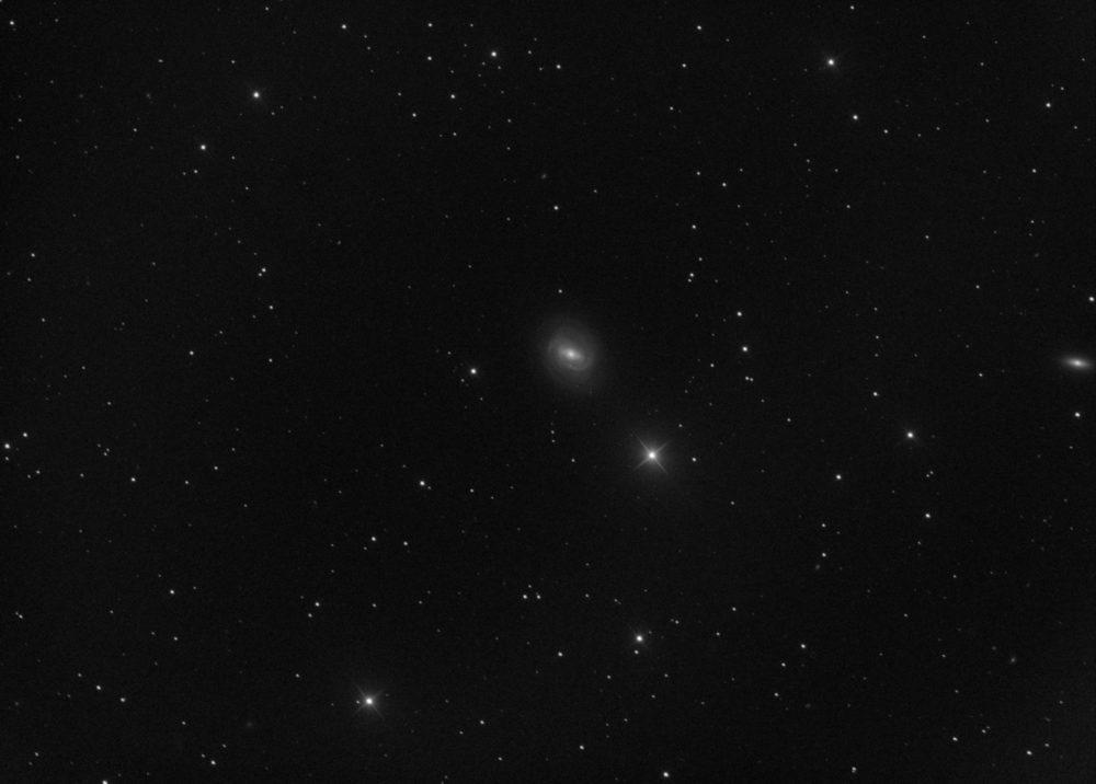 Messier 58 dans la constellation de la Vierge