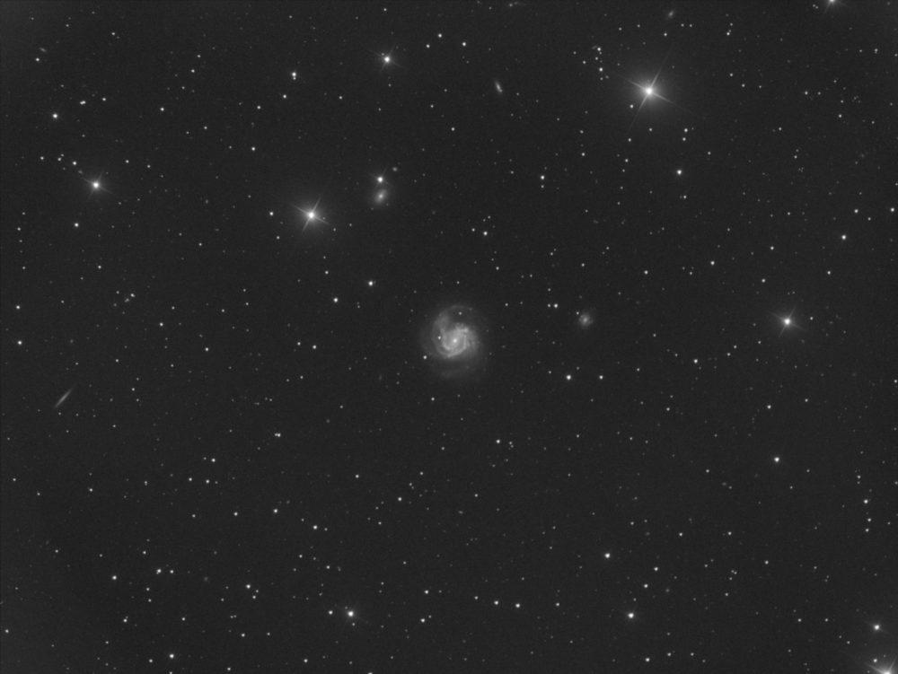 Messier 61 dans la Vierge