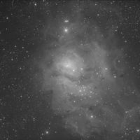 M 8 dans le Sagittaire