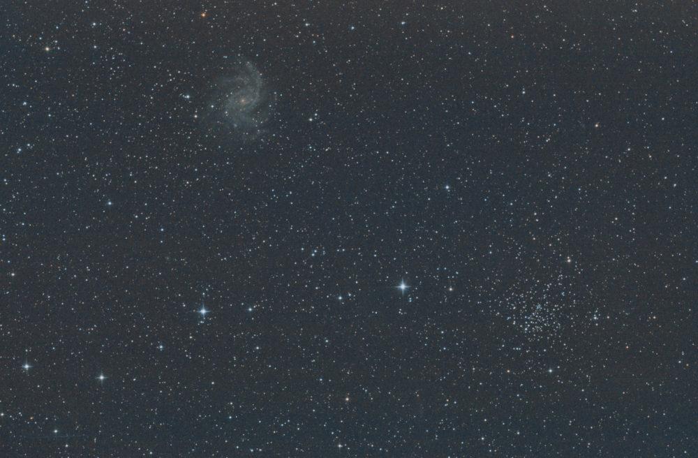 NGC 6939 + NGC 6946