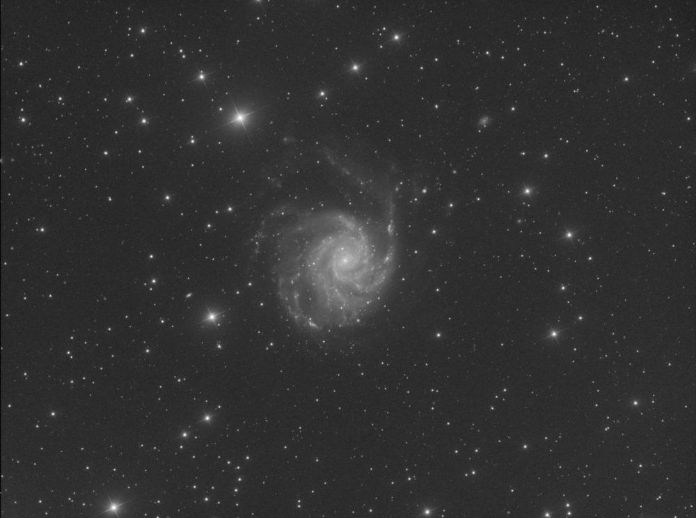Messier 101 dans la Grande Ourse