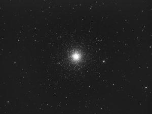 Messier 3 (N&B)