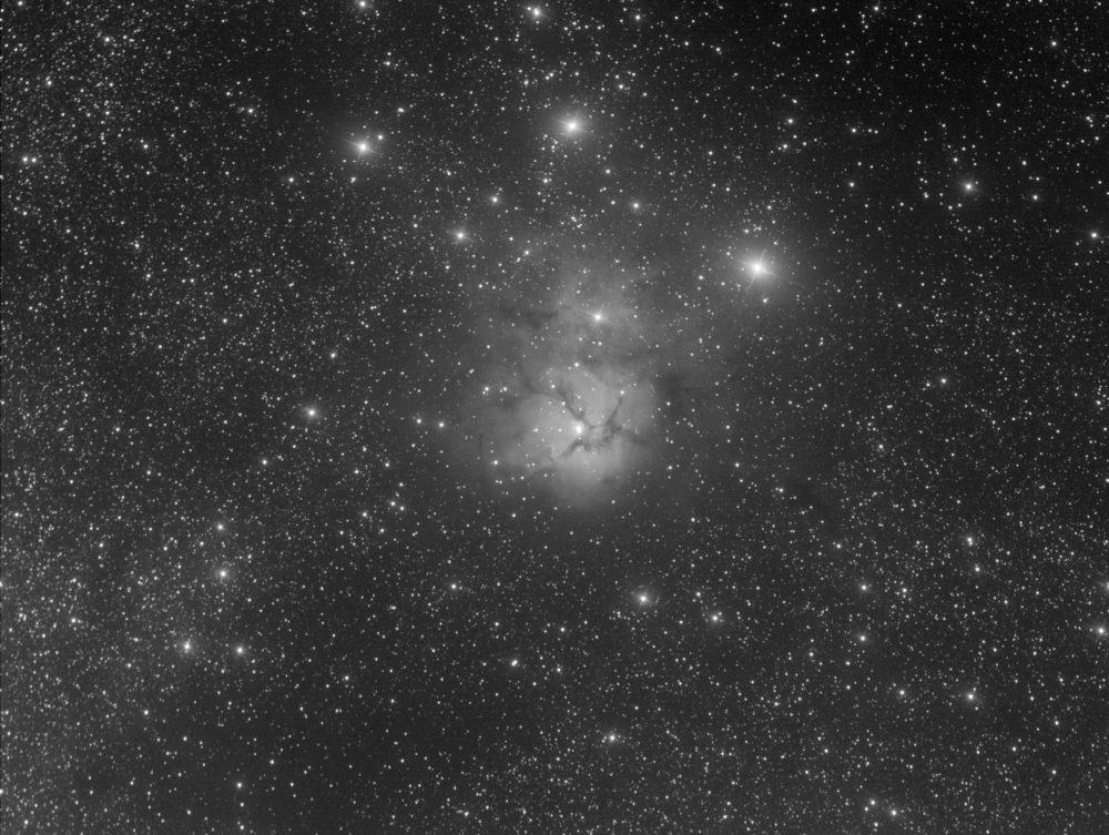 Messier 20, nébuleuse Trifide dans le Sagittaire
