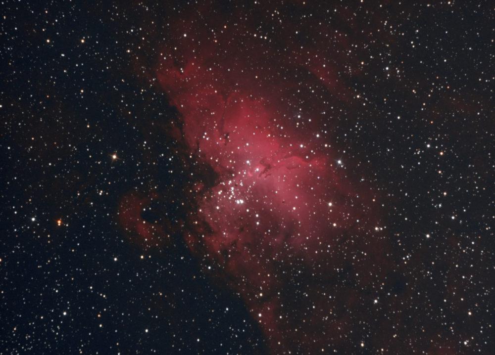 M 16 dans le Sagittaire