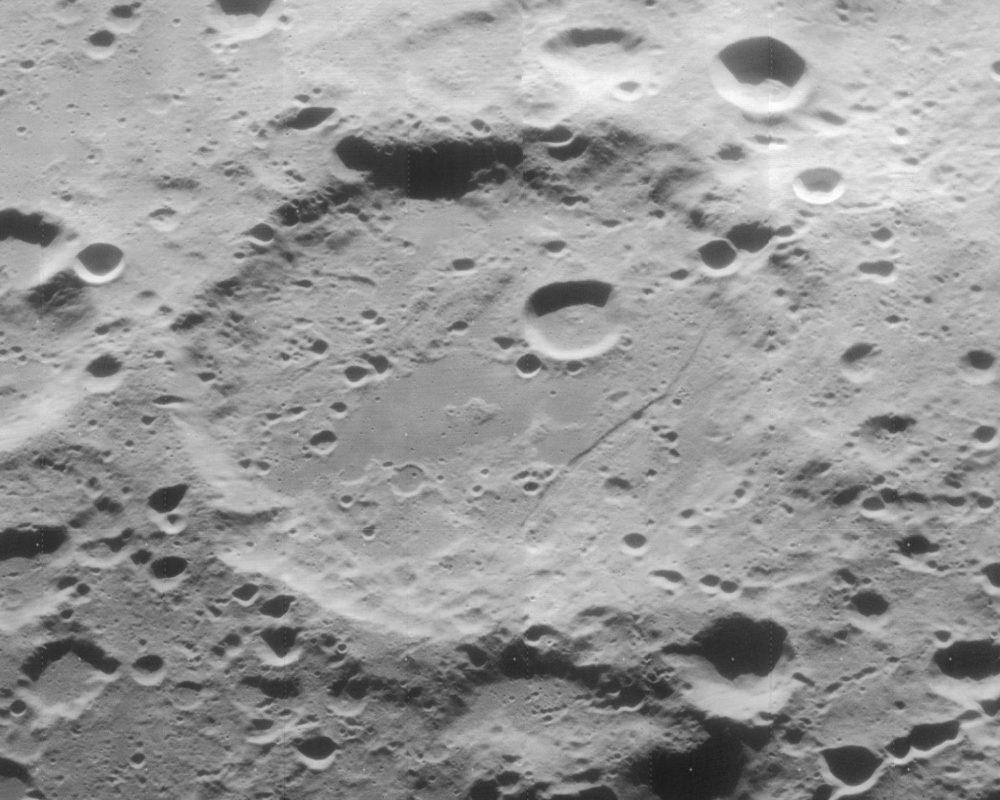 Furnerius par la sonde Lunar Orbiter 4