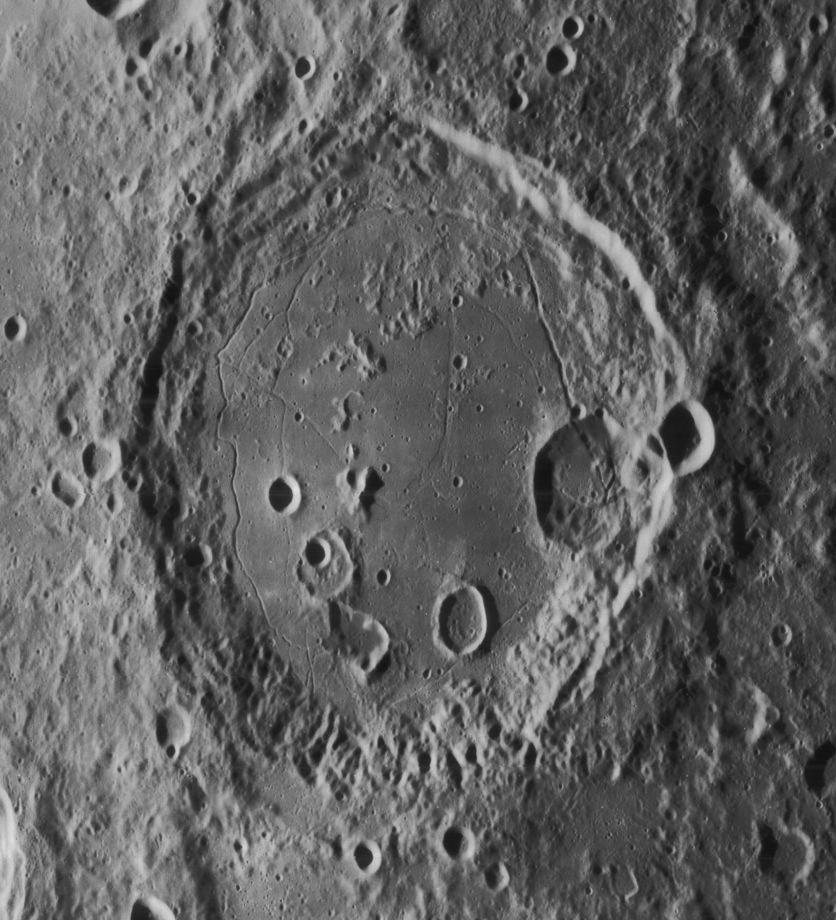 Gauss par la sonde Lunar Orbiter 4 (1967)