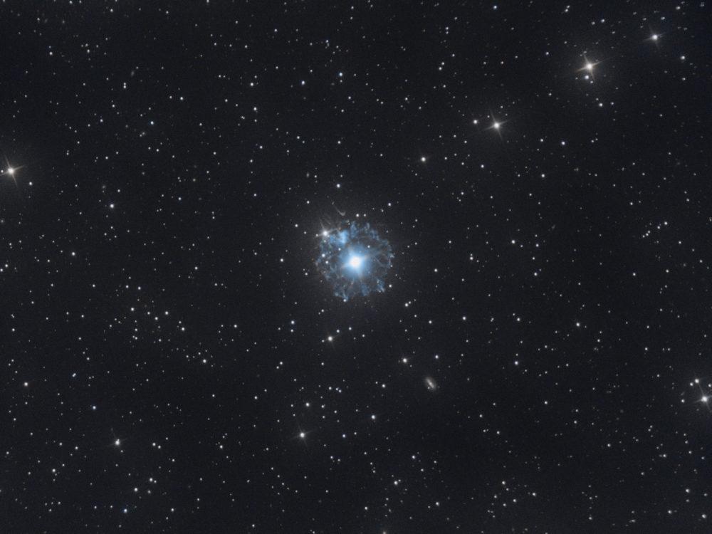 NGC 6543, l'œil de chat