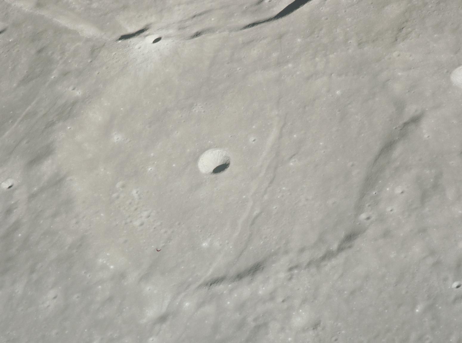 Cratère Chacornac - Image Apollo 15