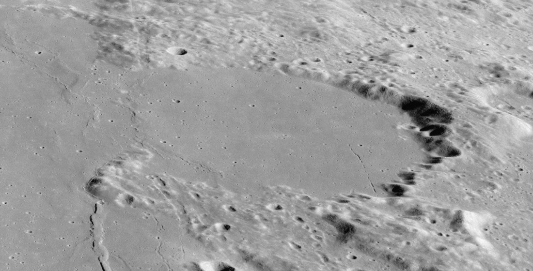 Cratère Le Monnier - Image Apollo 17