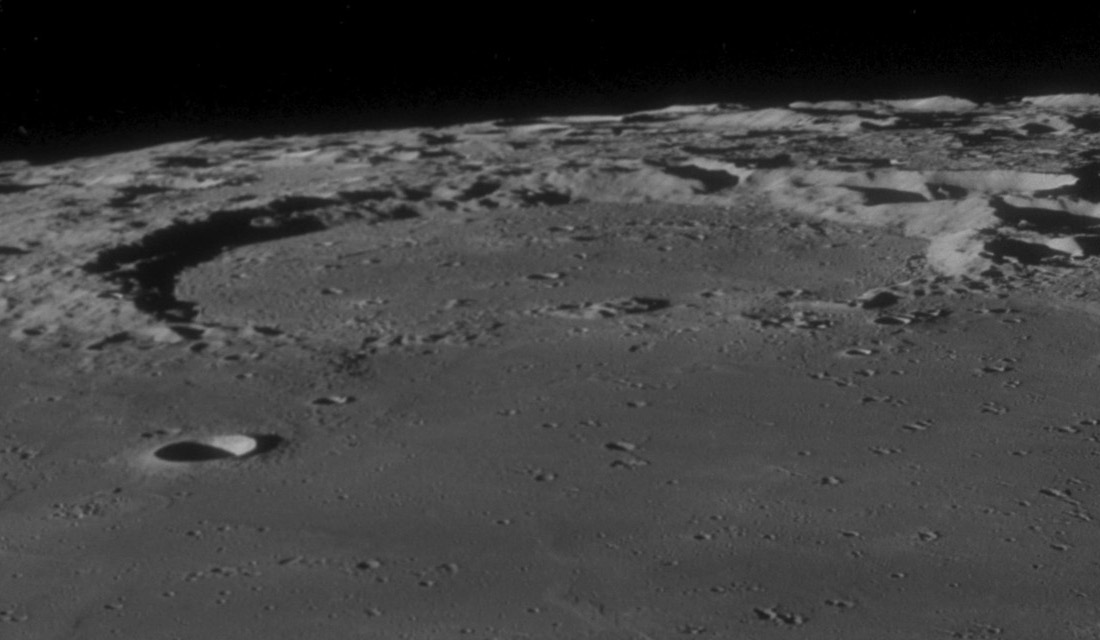 Fracastorius - Image Apollo 11